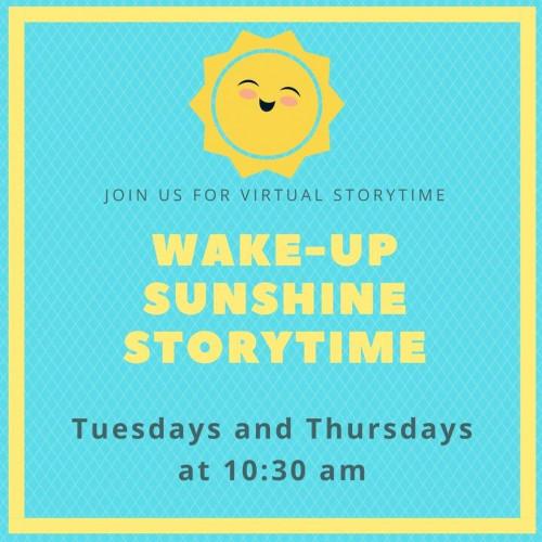 Wake-Up Sunshine Storytime