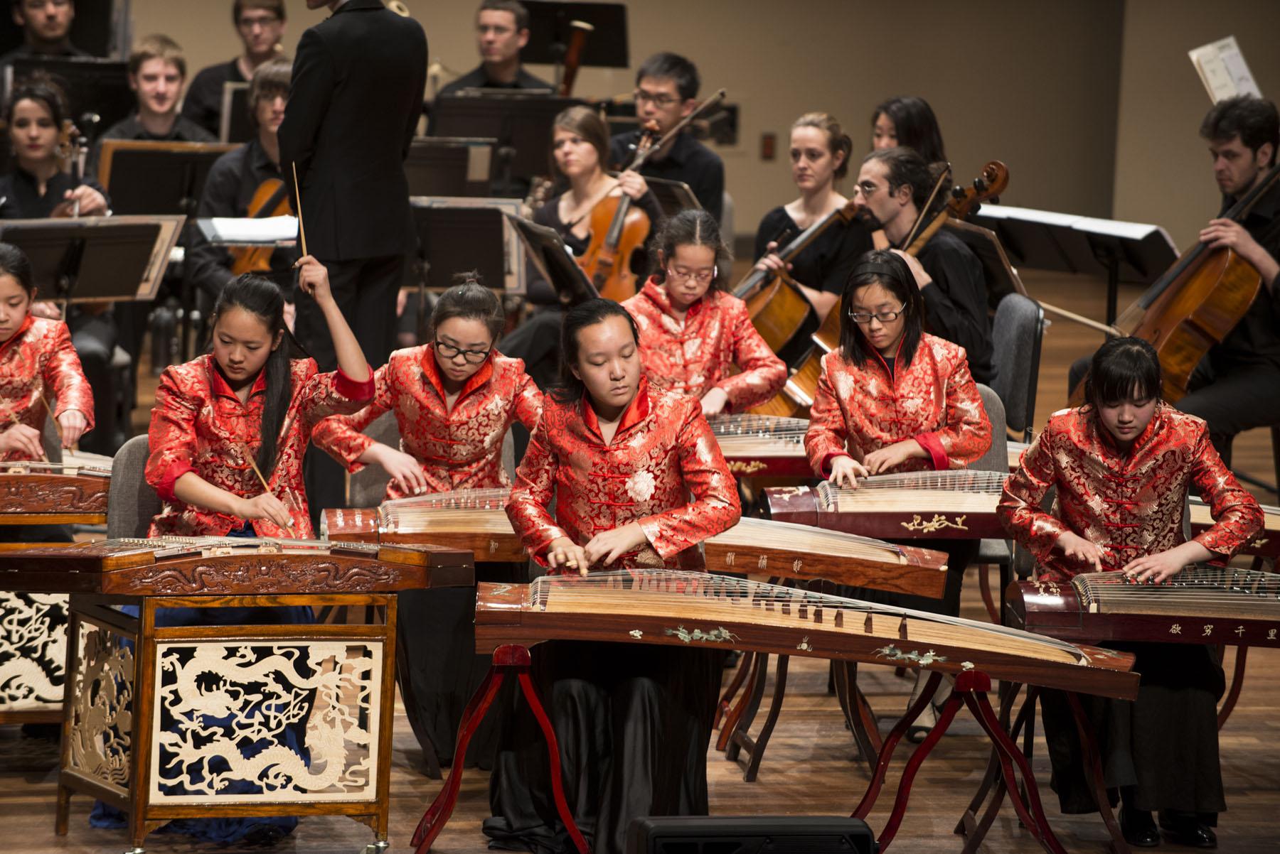 Chinese Dulcimer Guzheng Youth Band