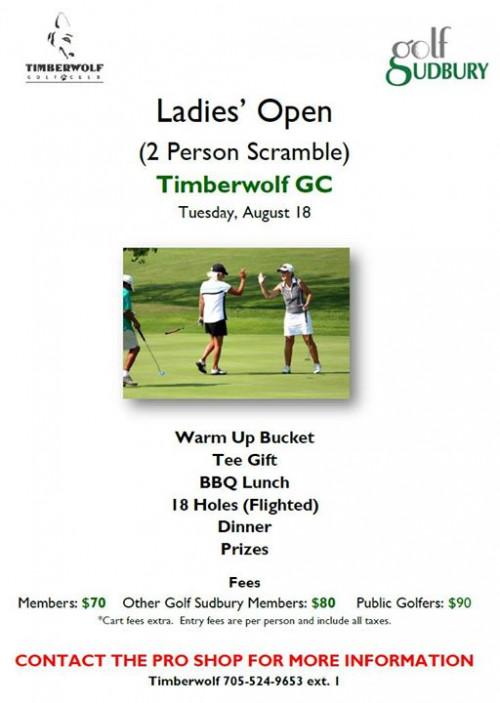 Timberwolf Ladies Open