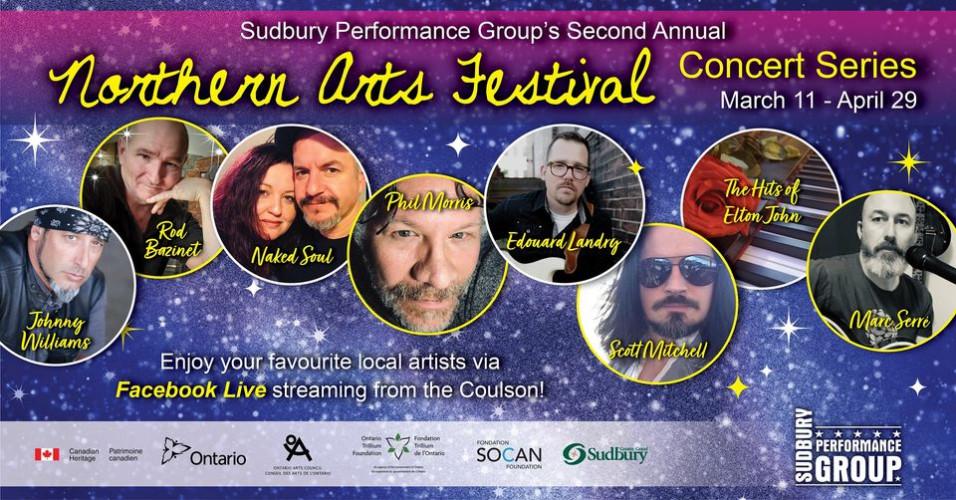 Sudbury Performance Group's Virtual  Concert Series