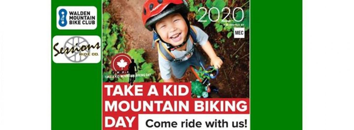Take a Kid Mountain Biking Day - September