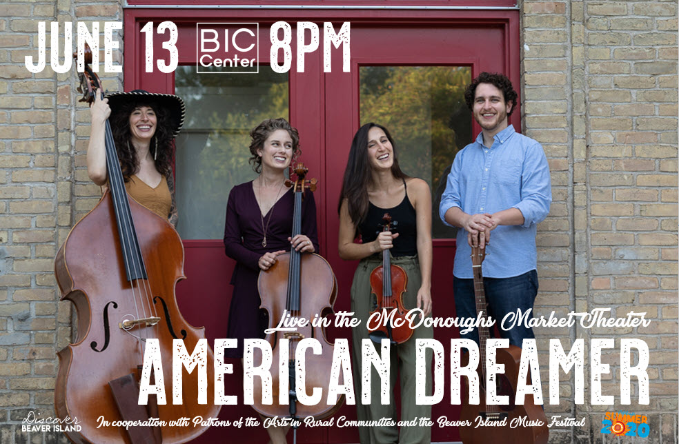 American Dreamer @ Beaver Island Community Center
