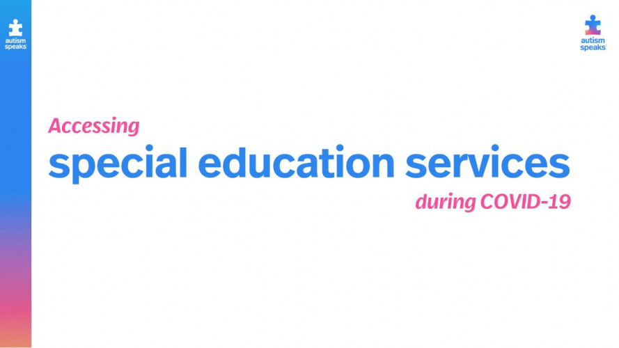 Webinar: Accessing Special Education Services During COVID-19