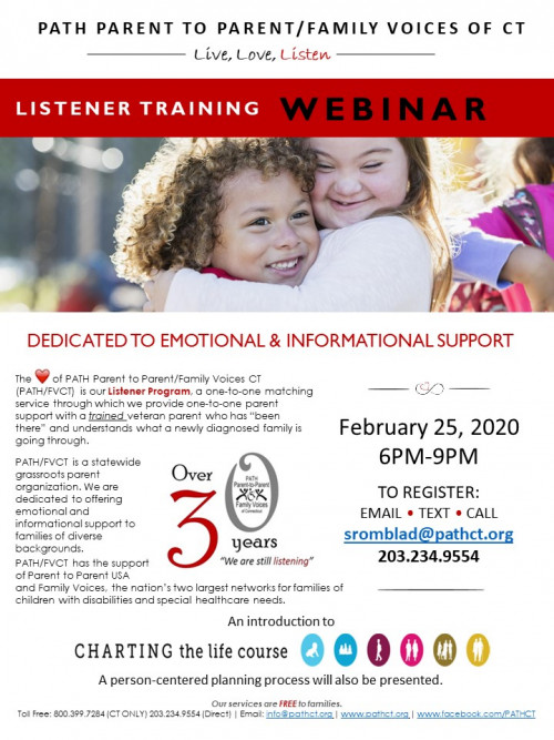 Listener Training Webinar