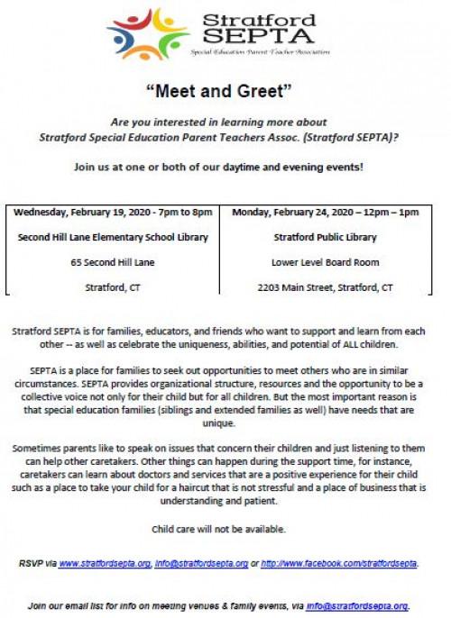 Stratford SEPTA: Meet and Greet - 2