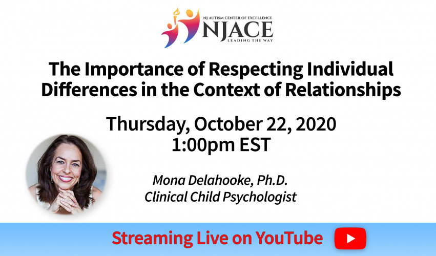 NJACE Webinar:  The Importance of Respecting Individual Differences in the Context of Relationships