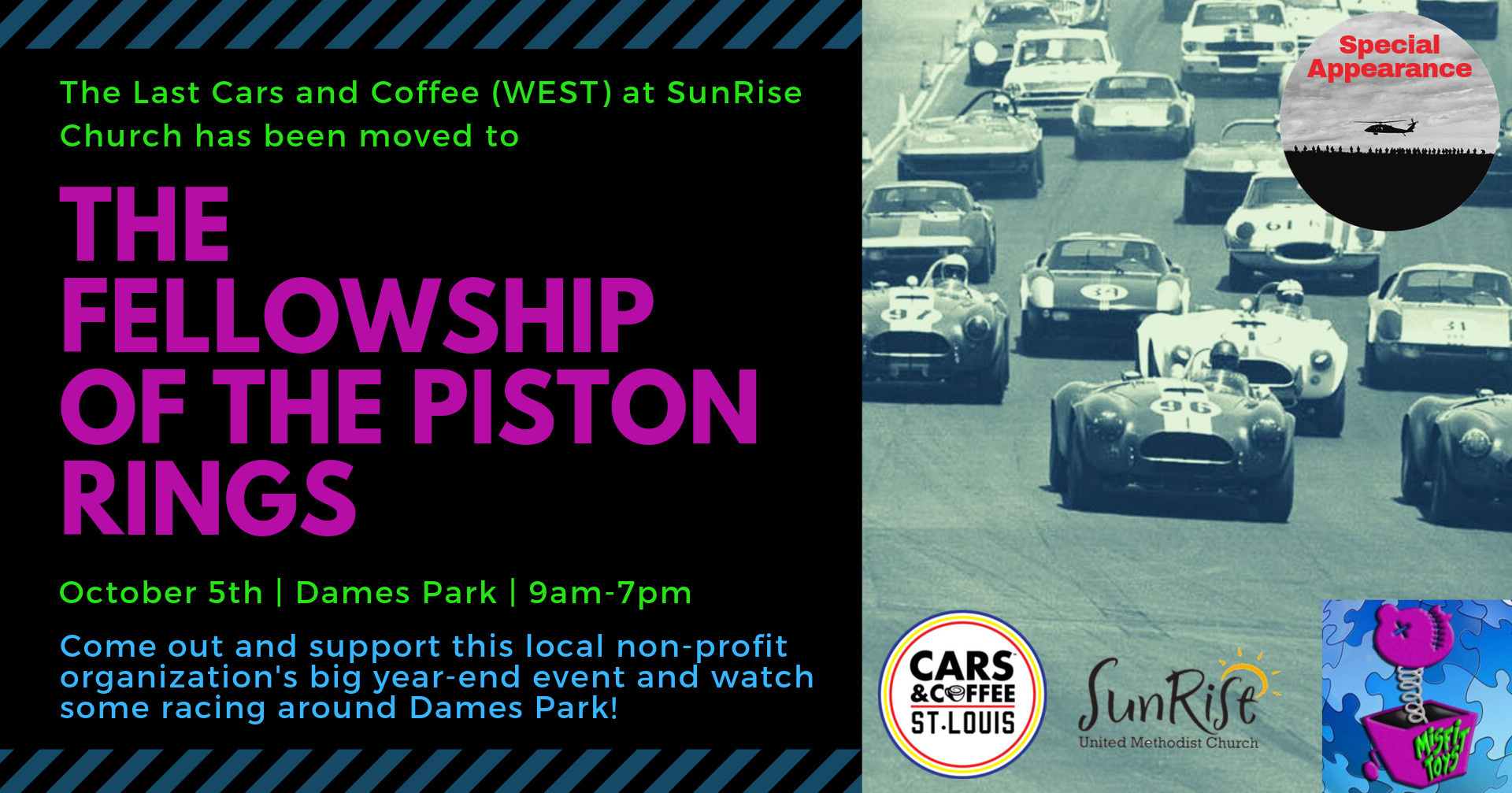Cars and Coffee (WEST) at The Fellowship of Piston Rings