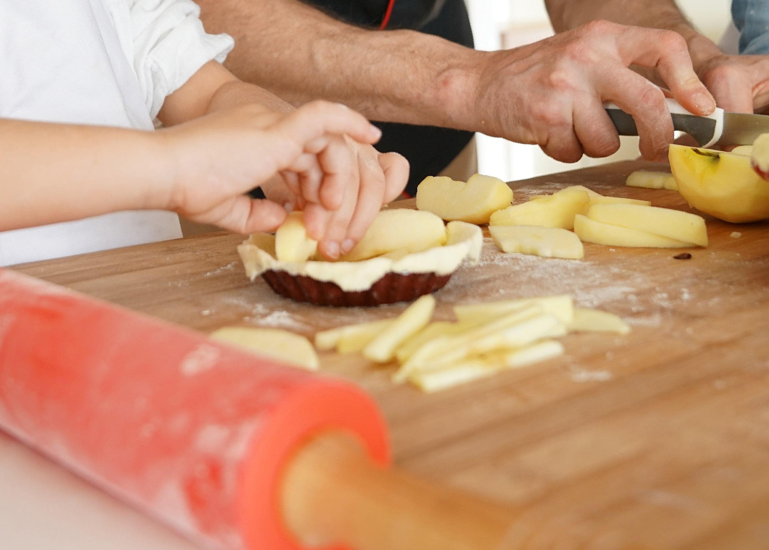 Homeschooling Days - Pie Baking