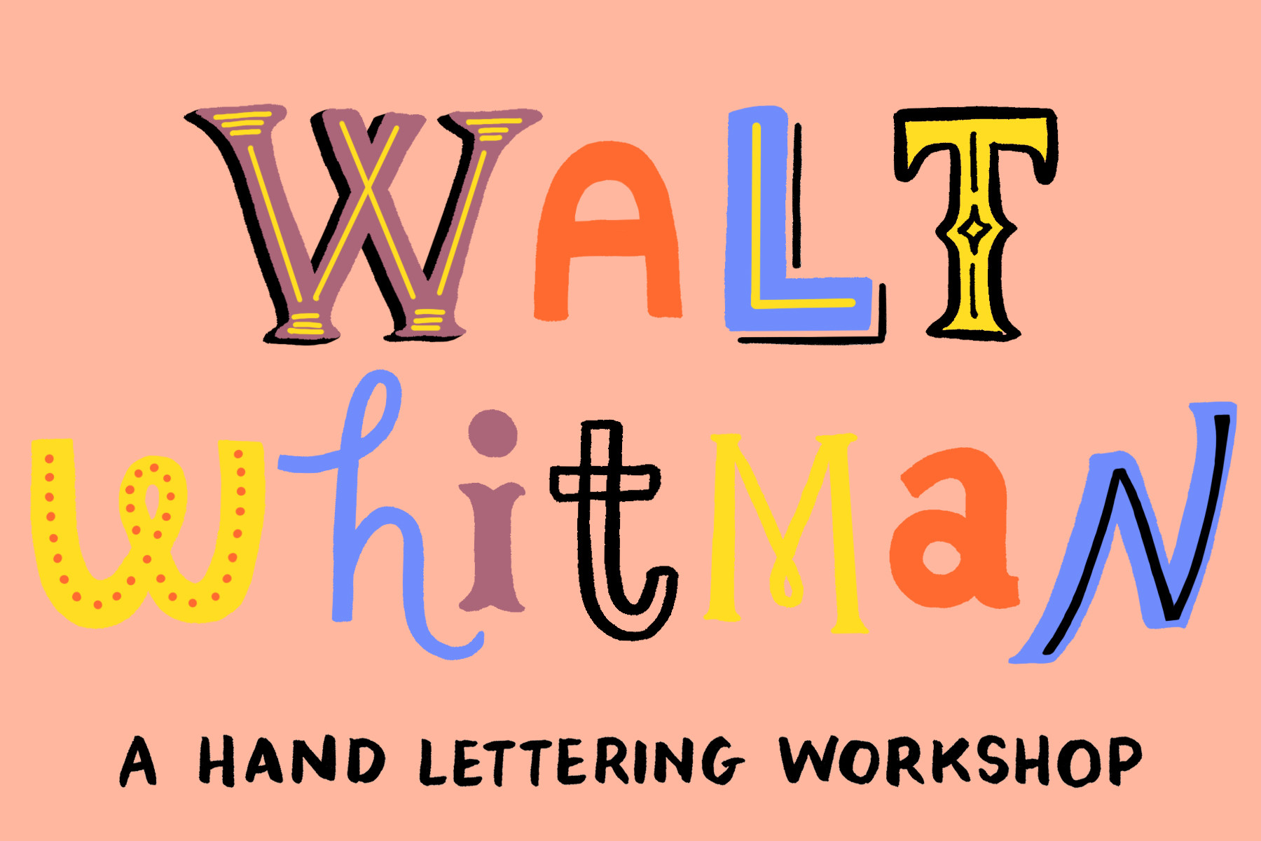Illuminated Whitman Verse Workshop