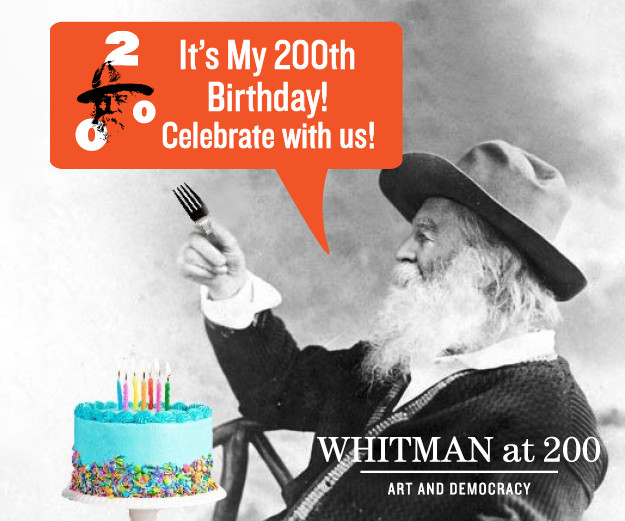 We Contain Multitudes: Celebrating Walt Whitman's 200th Birthday with Poetry, Song, and Cake