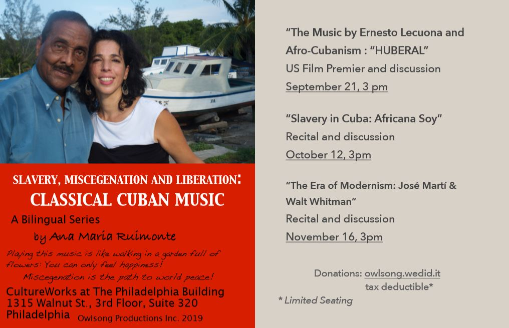 Slavery, Miscegenation and Liberation: Classical Cuban Music