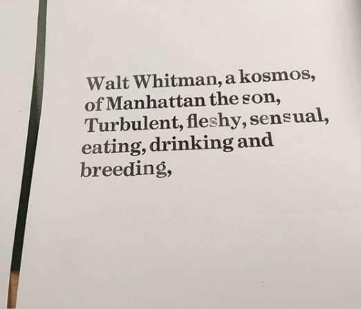 Course - Walt Whitman and the People's Press