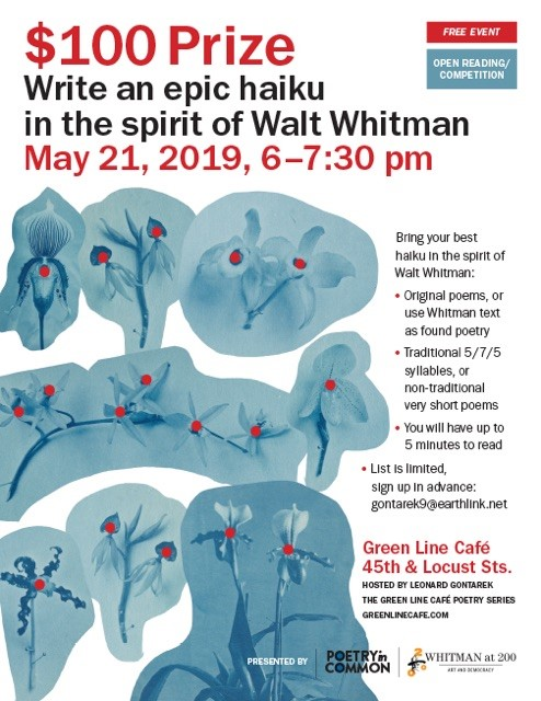 $100 Prize! Write an epic haiku in the spirit of Walt Whitman
