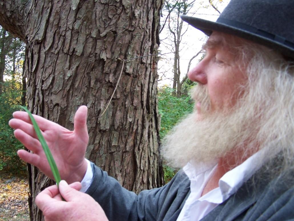 "David Scott Taylor as ""The Good Gray Poet,"" A Portrayal of Walt Whitman"