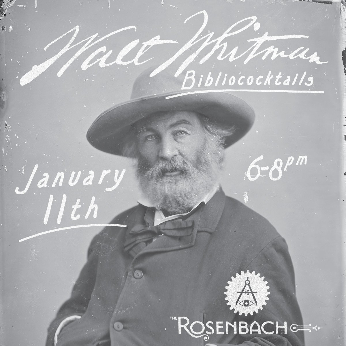 Bibliococktails: Walt Whitman