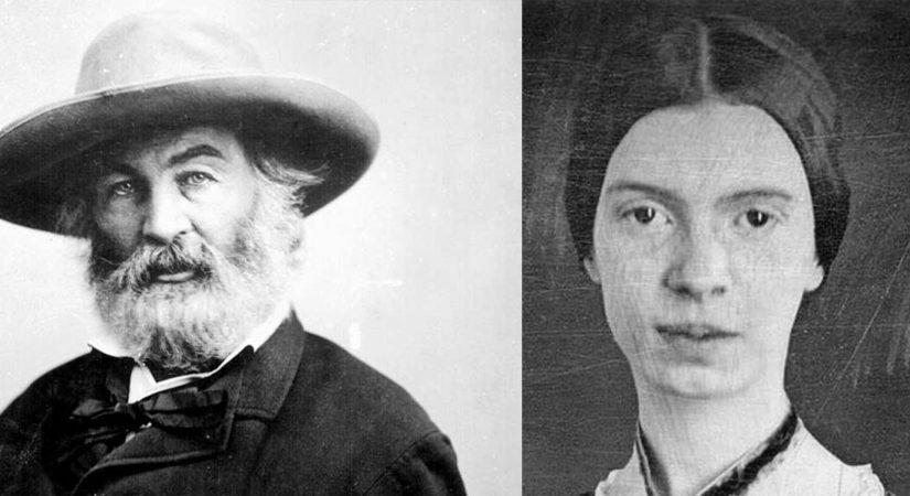 Walt Whitman and Emily Dickinson