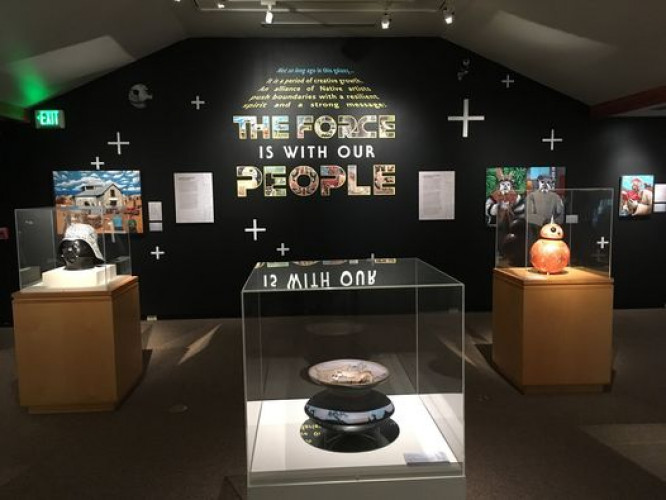 "Finale for ""The Force Is With Our People"""