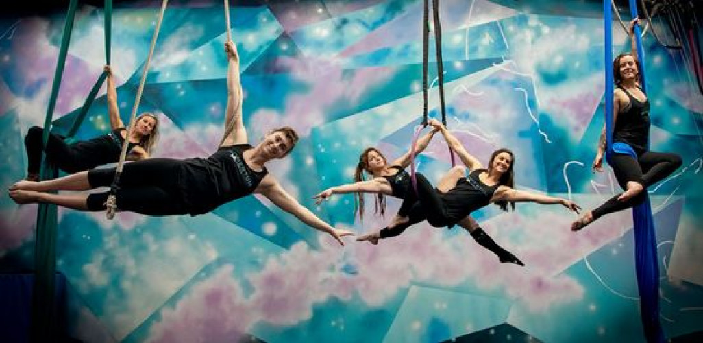 Aerial Sampler Day at Momentum