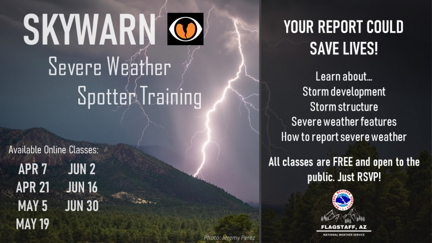 NWS Severe Weather Spotter Training - Online