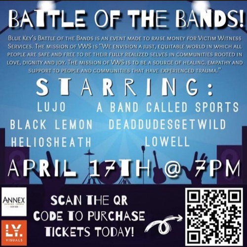 BLUE KEY BATTLE OF THE BANDS