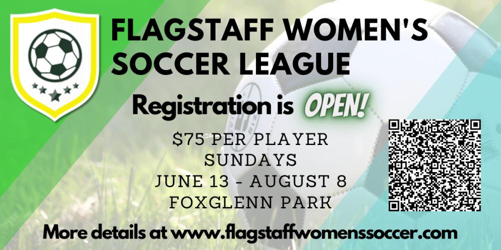 Flagstaff Women's Soccer League 2021