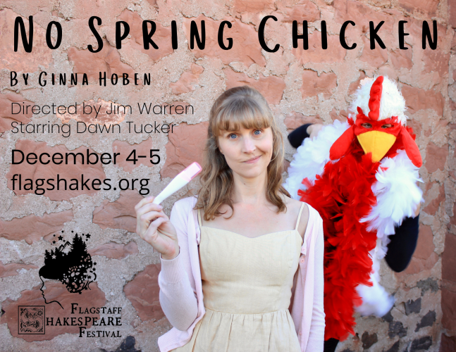 """No Spring Chicken""- FlagShakes"