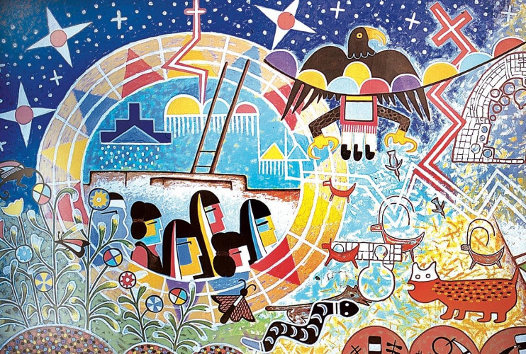 Journey to Balance: Migration and Healing in Three Hopi Murals