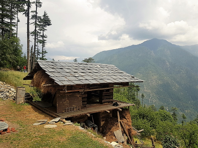 Wooden Architecture & Ethnicity Of Himachal (06 Days: #772)