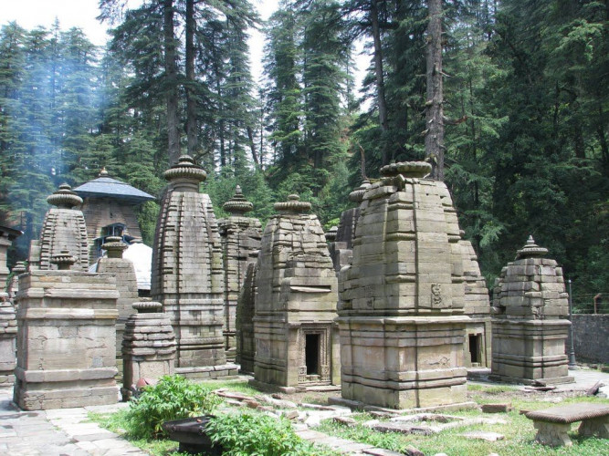 Shiva Walks at Jageshwar (04 Days #862)