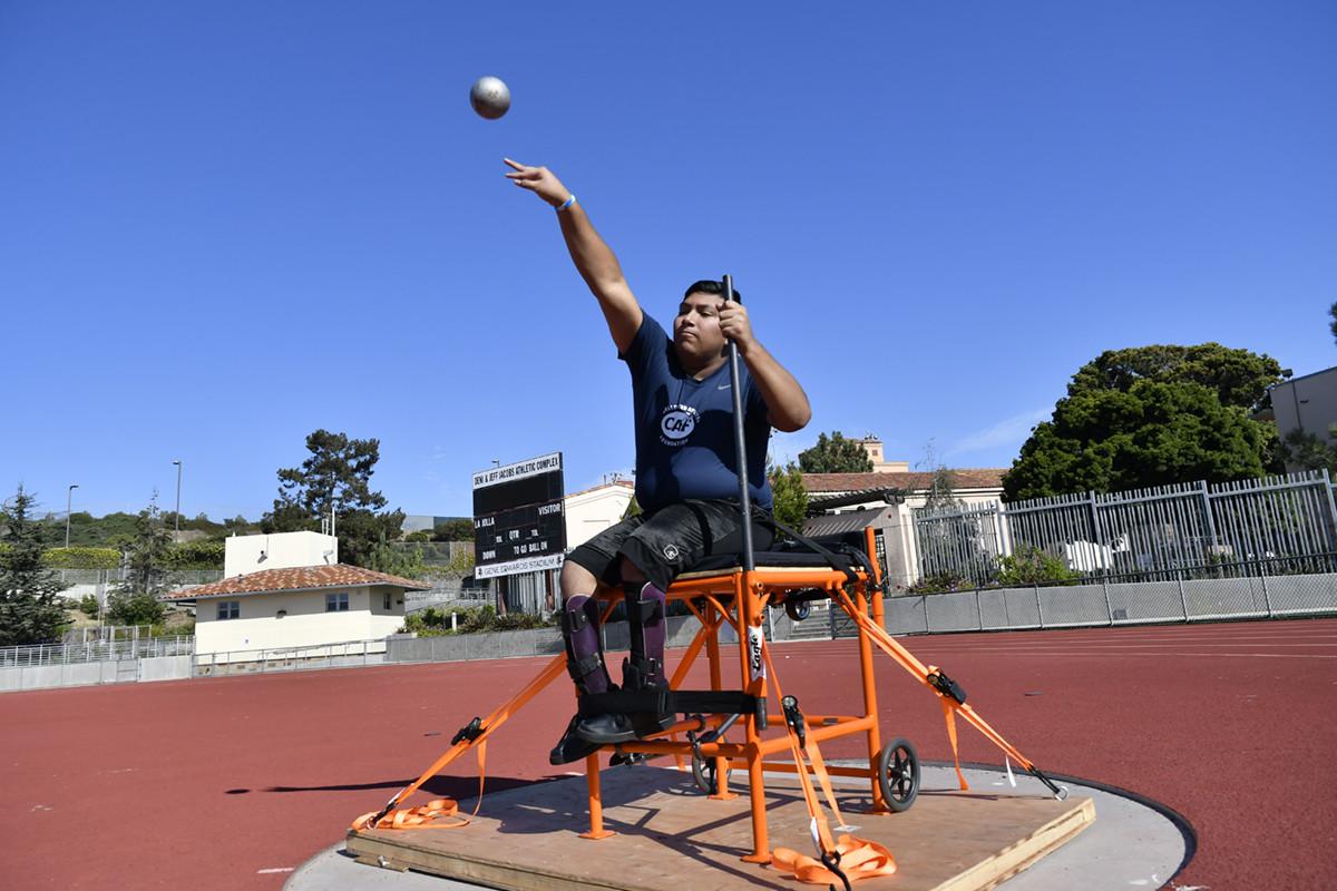2020 San Diego High School Adaptive Track & Field Preseason Training