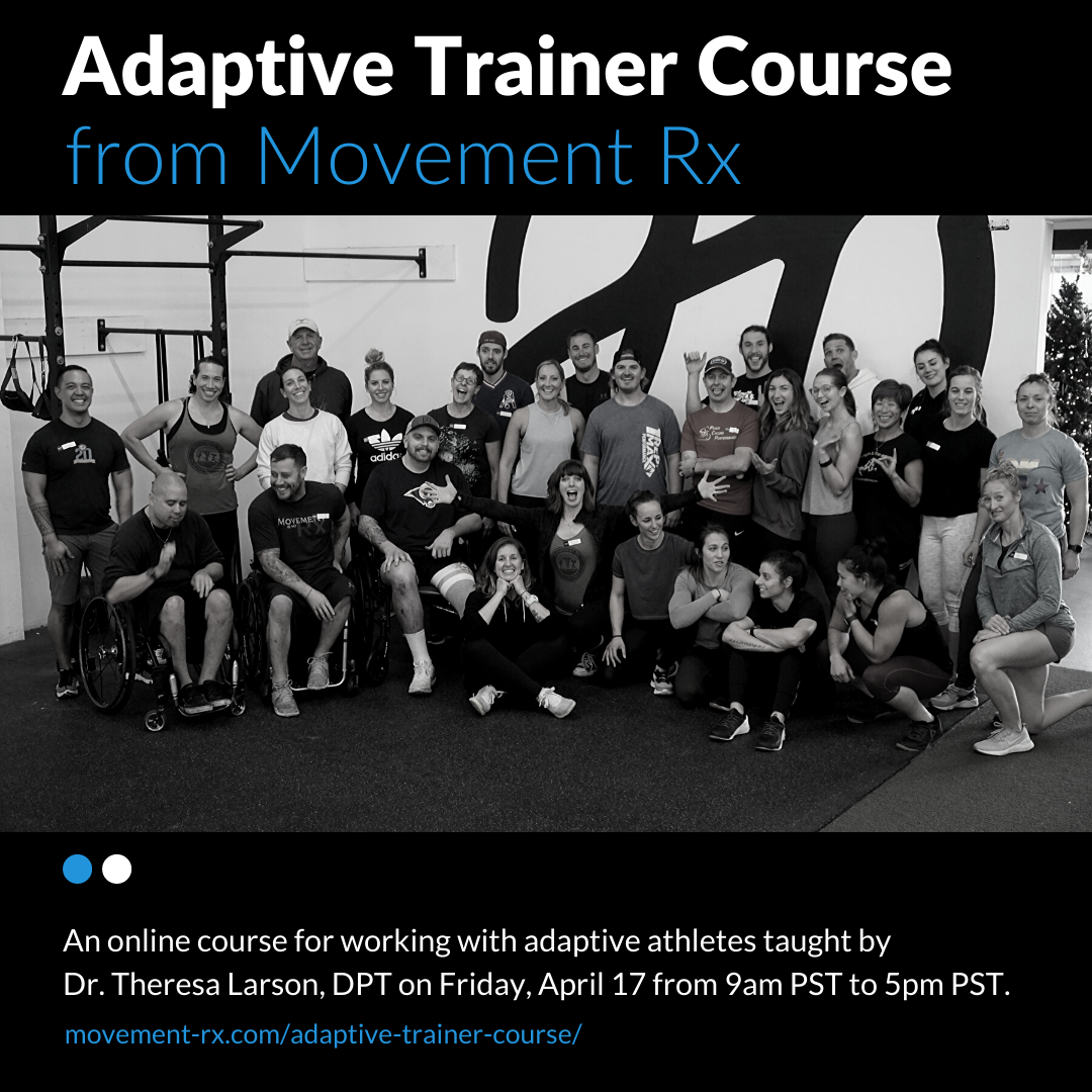 Movement Rx Online Adaptive Trainer Course