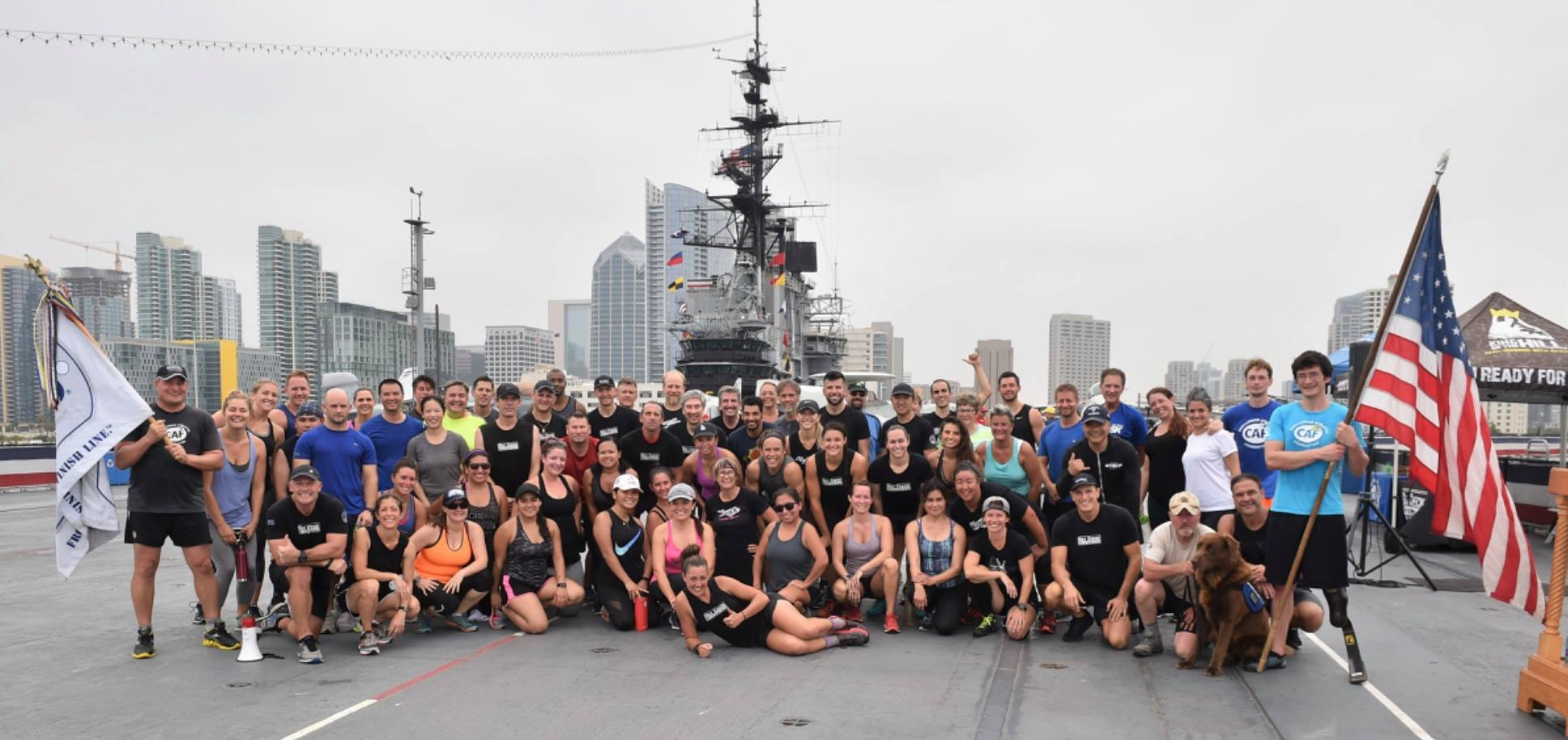 U.S.S. Midway Gut Check Challenge