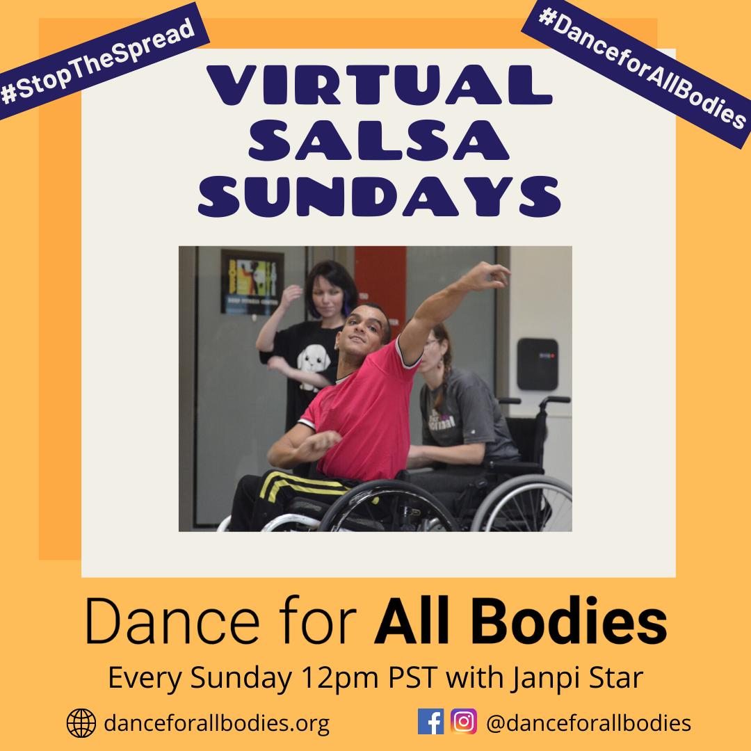 Virtual Adaptive Salsa Class