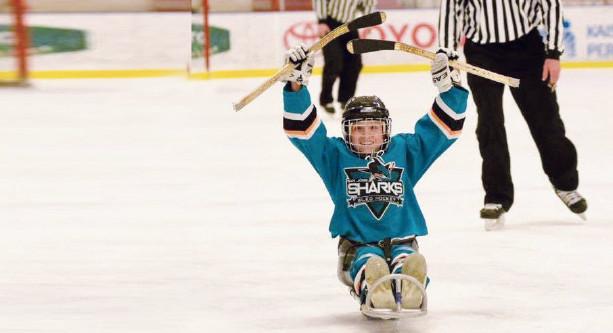 CAF Idaho Sledge Hockey Clinic