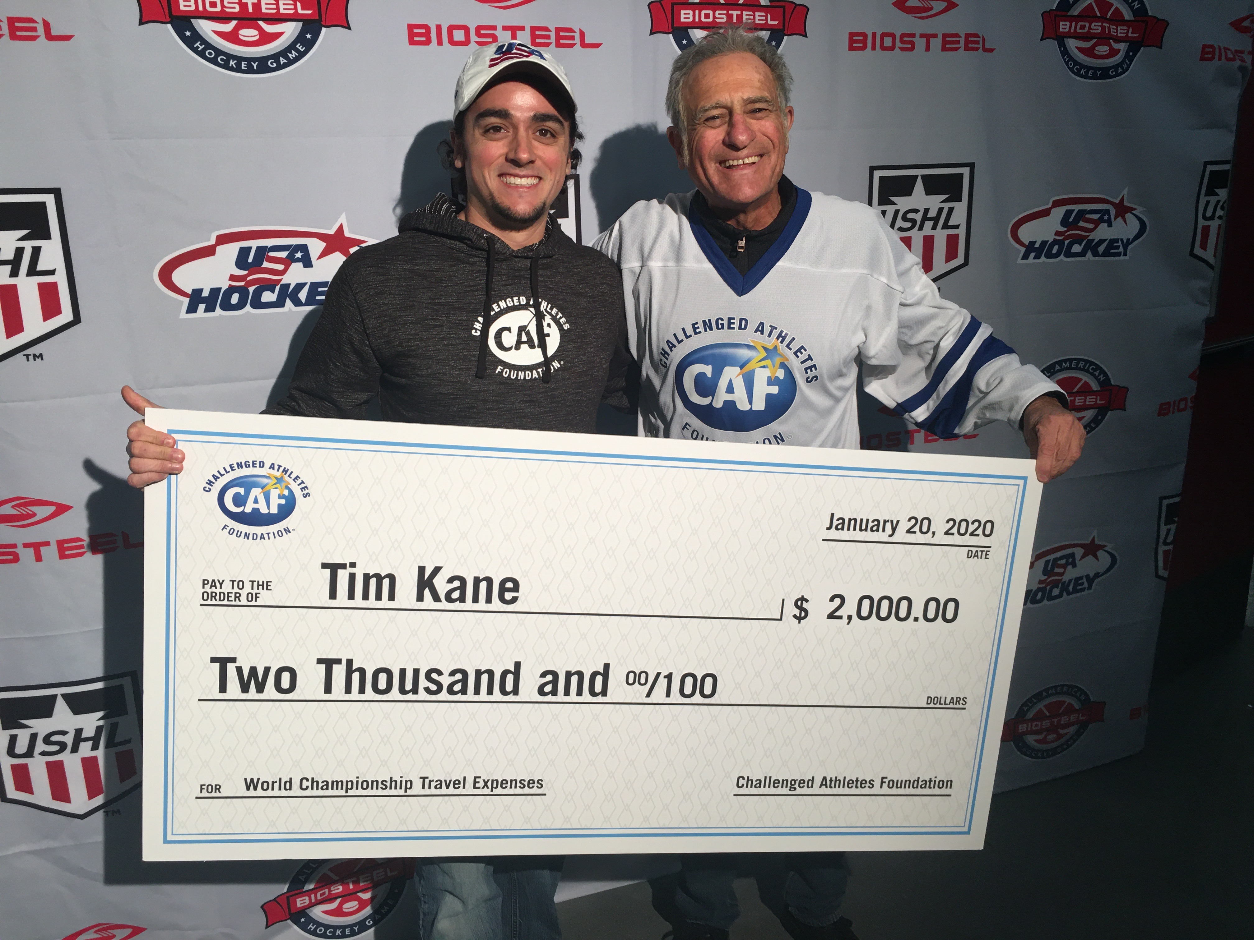 Challenged Athletes Live - Interview with Tim Kane