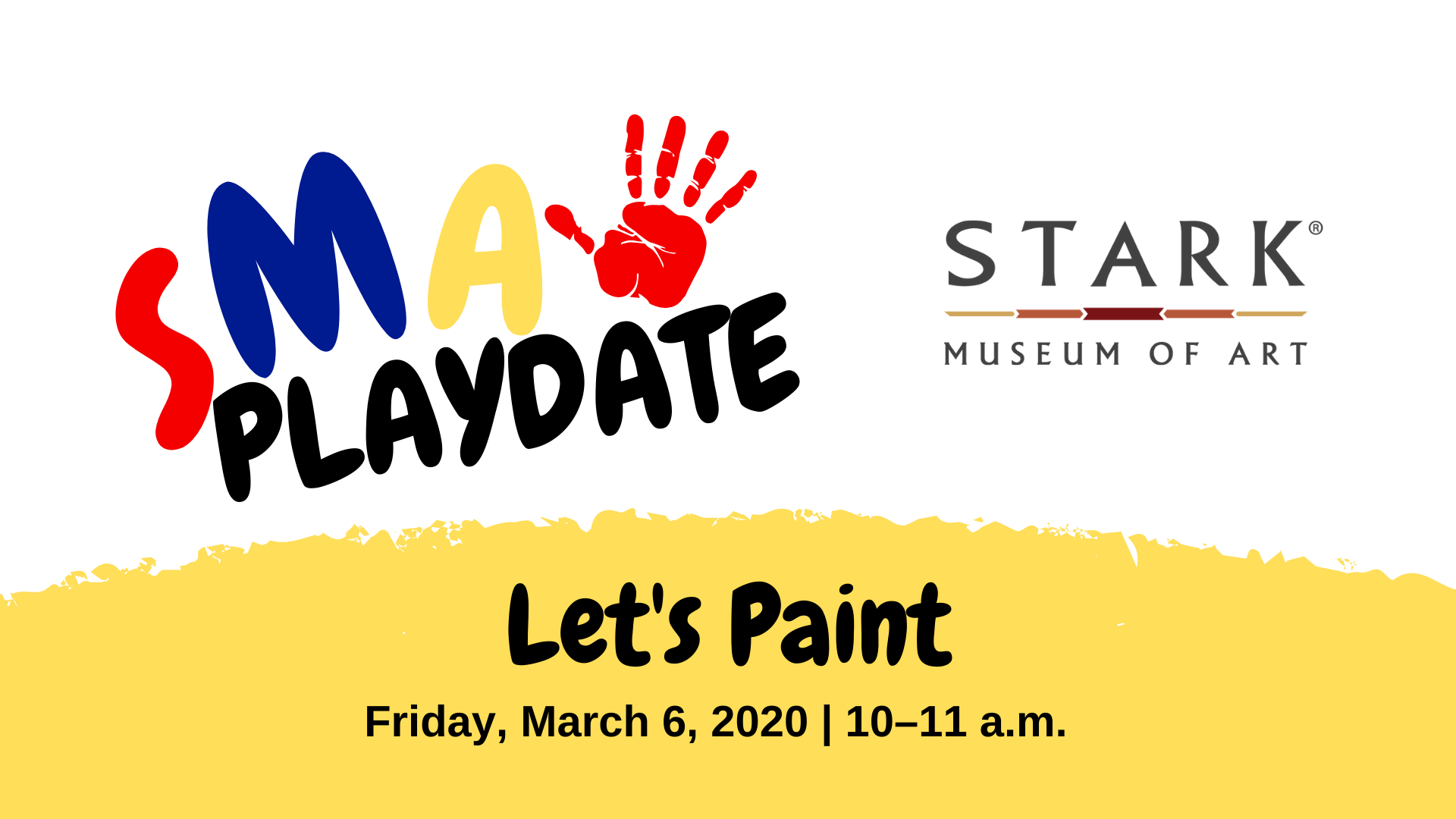 SMA PLAYDATE: Let's Paint
