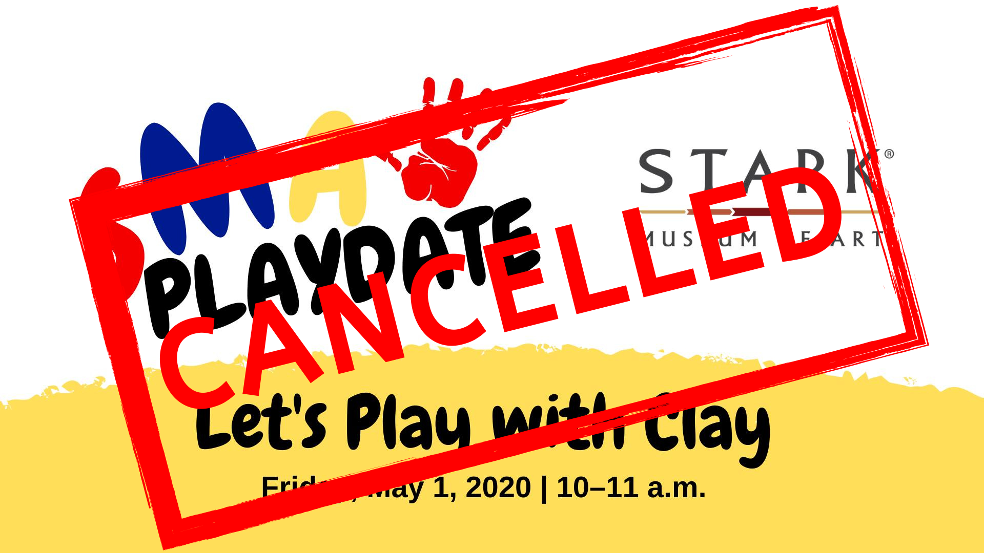 SMA Playdate: Let's Play with Clay