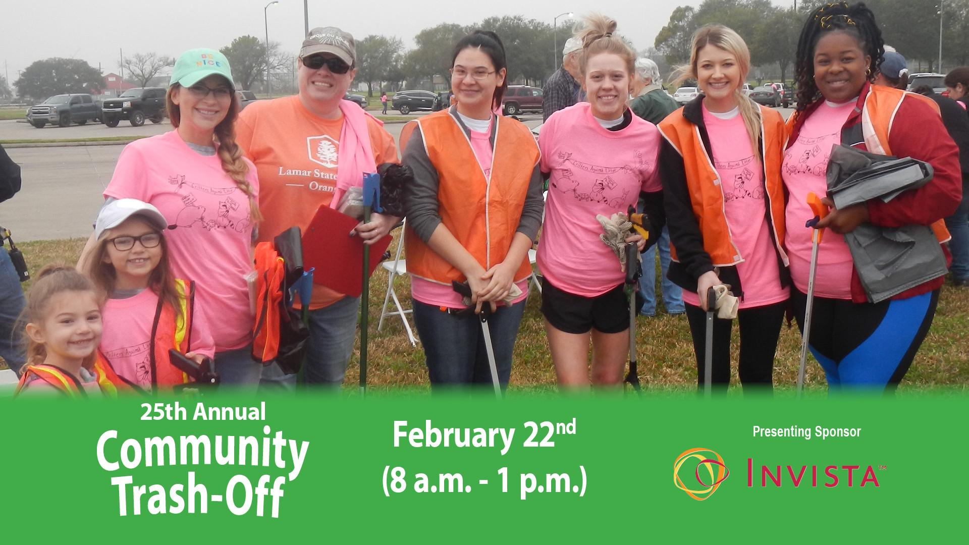 25th Annual Community Trash Off