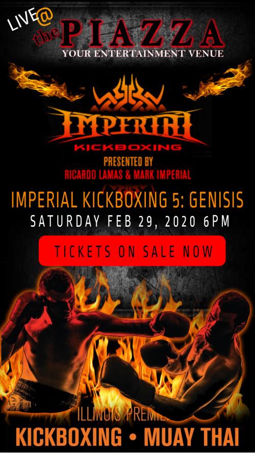 Imperial Kickboxing 5: Genesis