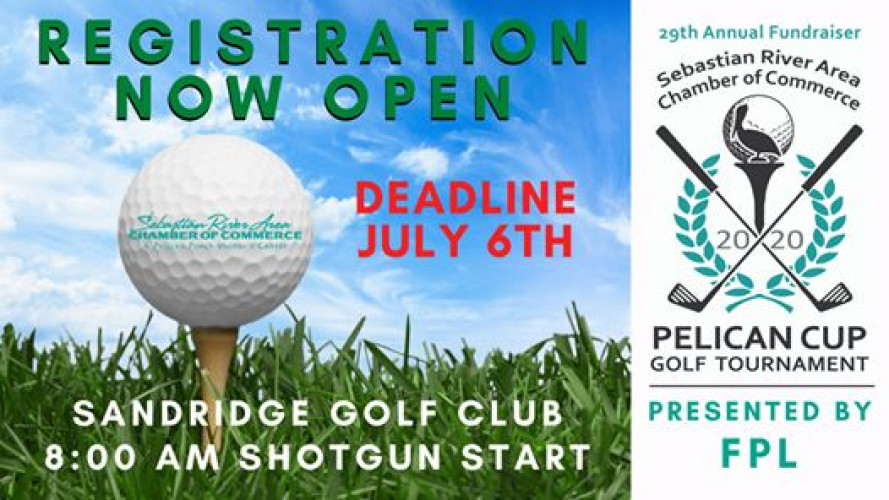 New Date: 29th Annual Fundraiser Pelican Cup Golf Tournament