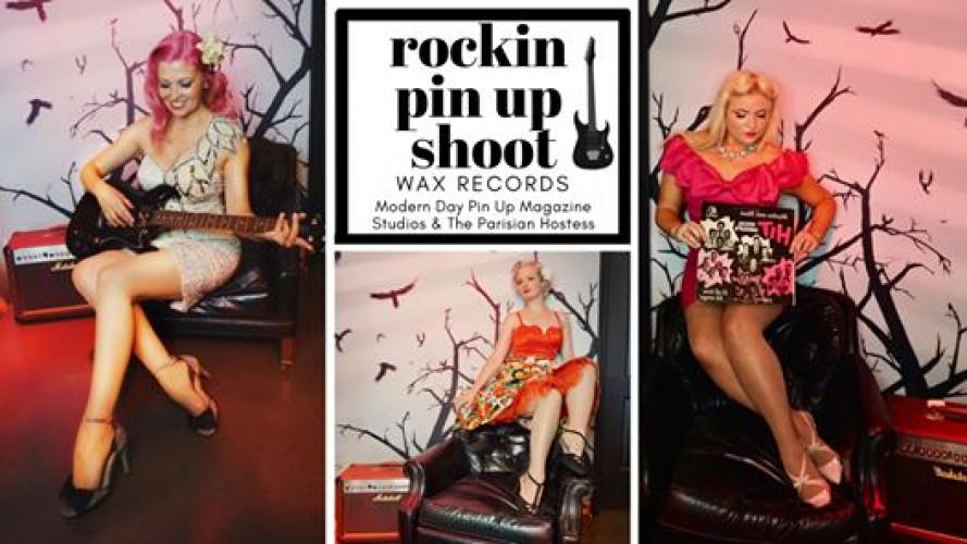 Rockin Pin Up Shoot with Modern Day Pin Up Magazine Studios