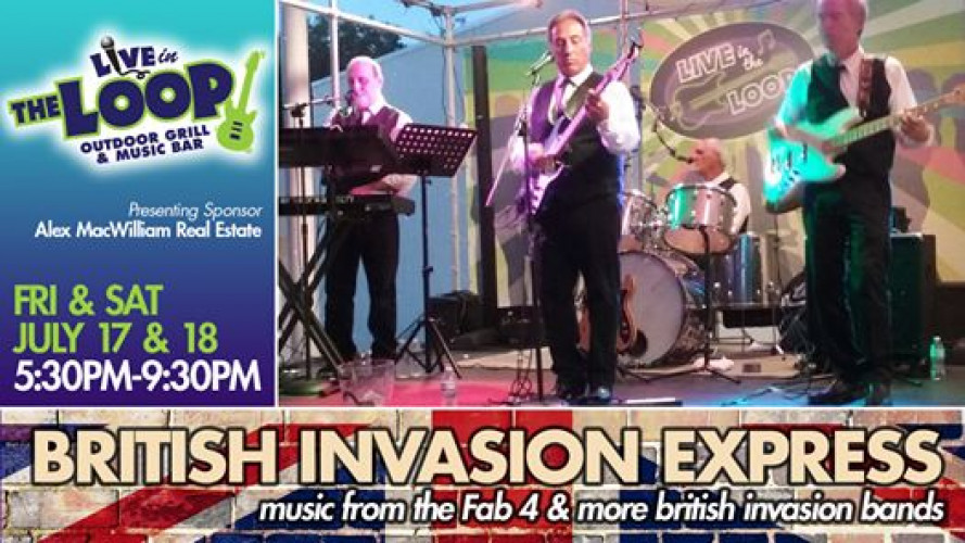 Dining and live music with British Invasion Express