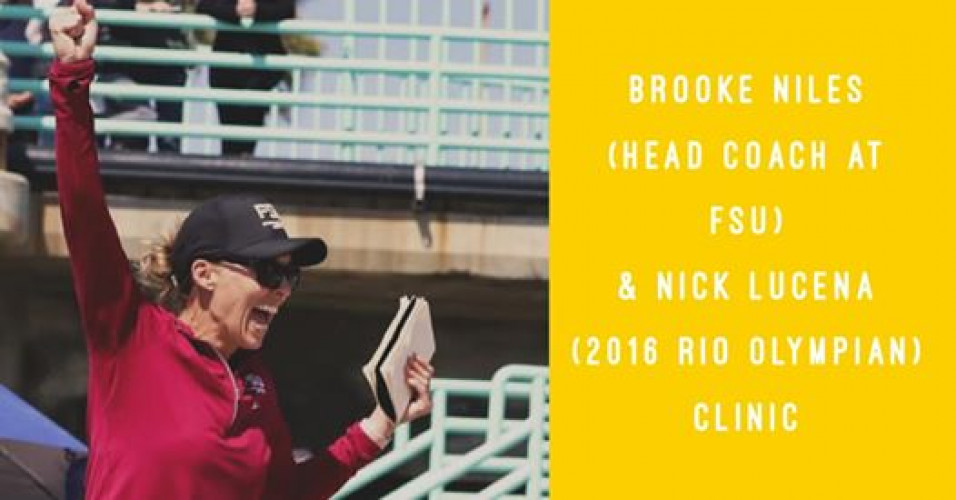 Brooke Niles & Nick Lucena Clinic