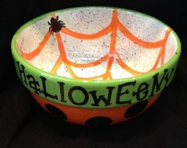 Bubbly Diva Night - Halloween Candy Bowl