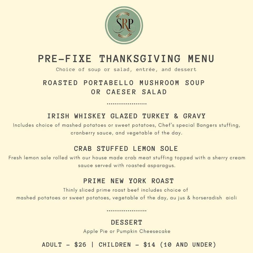 Thanksgiving at Sean Ryan Pub