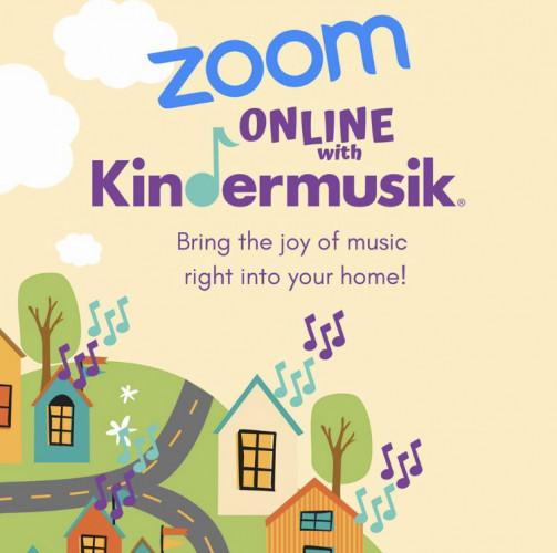 Kindermusik online via Zoom!
