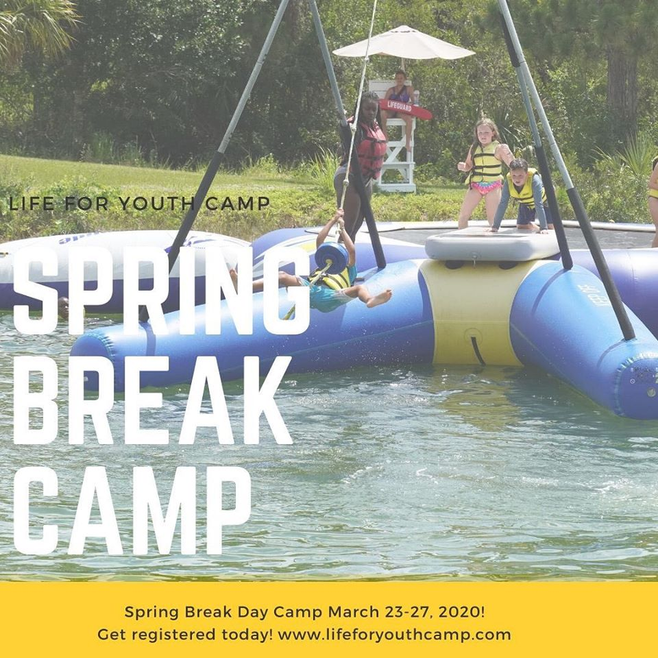 Spring Break Camp at Life For Youth