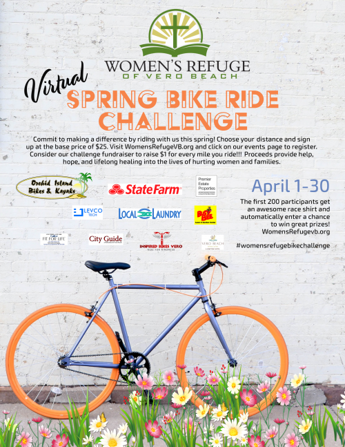 Women's Refuge Virtual Spring Bike Ride Challenge