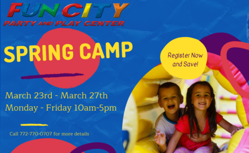 Spring Camp at Fun City