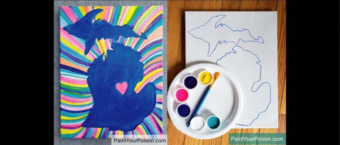Paint Party Fundraiser!